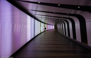 Kings Cross lighted subway - John Wilson