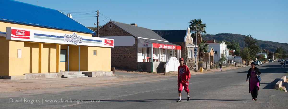 Main Street Garies, Namaqualand, spring flower safari by David Rogers