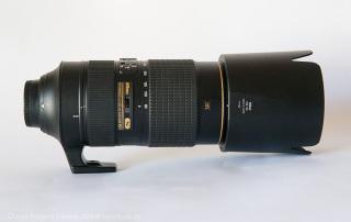Nikon 80 - 400 lens test