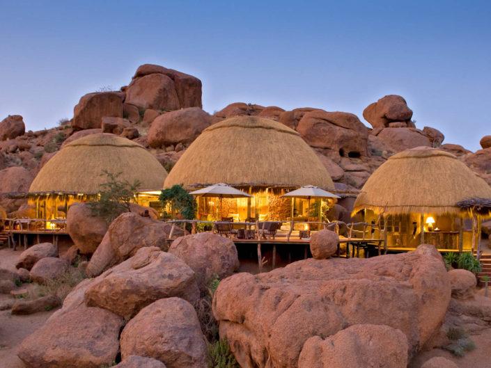 Lodges in landscapes